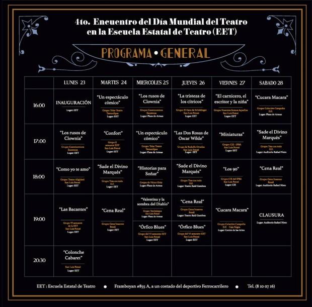 4 Encuentro Dia Mundal del Teatro