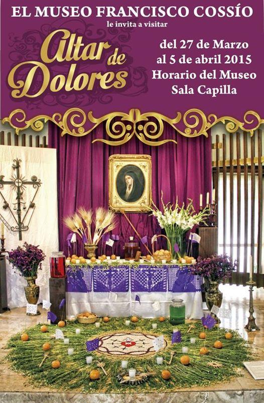 Altar Dolores Museo Francisco Cossío