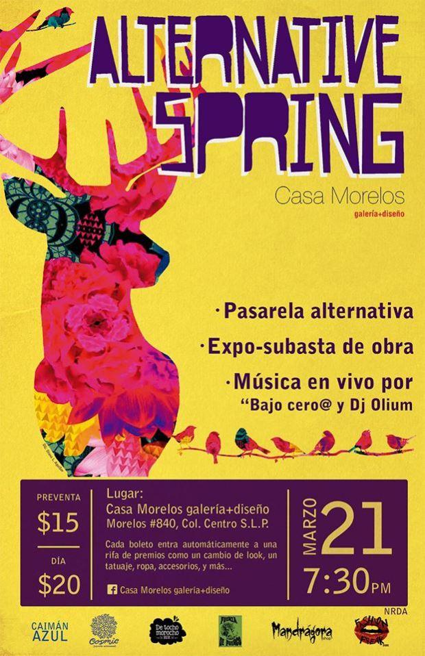 Alternative Spring Casa Morelos @ Casa Morelos | San Luis Potosí | San Luis Potosí | México