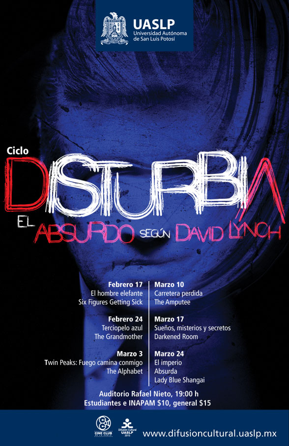 Ciclo de Cine Disturbia @ Auditorio Rafael Nieto