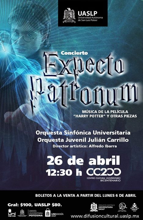 Expecto Patronum @ Centro Cultural Universitario Bicentenario