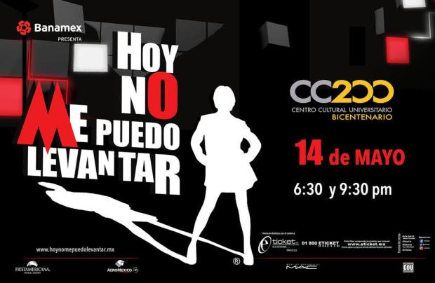Hoy no me puedo levantar @ Centro Cultural Universitario Bicentenario | San Luis Potosí | San Luis Potosí | México