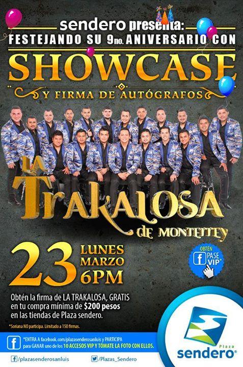 Shocase de La Trakalosa de Monterrey @ Plaza Sendero | San Luis Potosí | San Luis Potosí | México