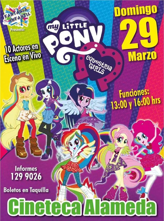 My Little Pony Equestría Girls en San Luis Potosí @ Cineteca Alameda