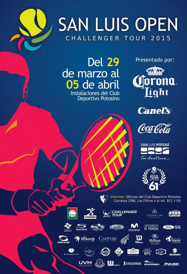 San Luis Open Challenger Tour 2015 @ Club Deportivo Potosino | San Luis Potosí | San Luis Potosí | México