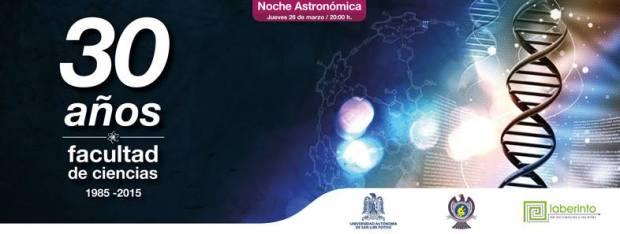 noche astronomica 30 años