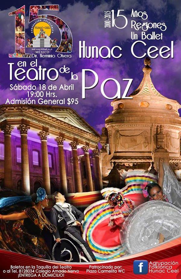 15 años de Hunac Ceel @ Teatro de la Paz