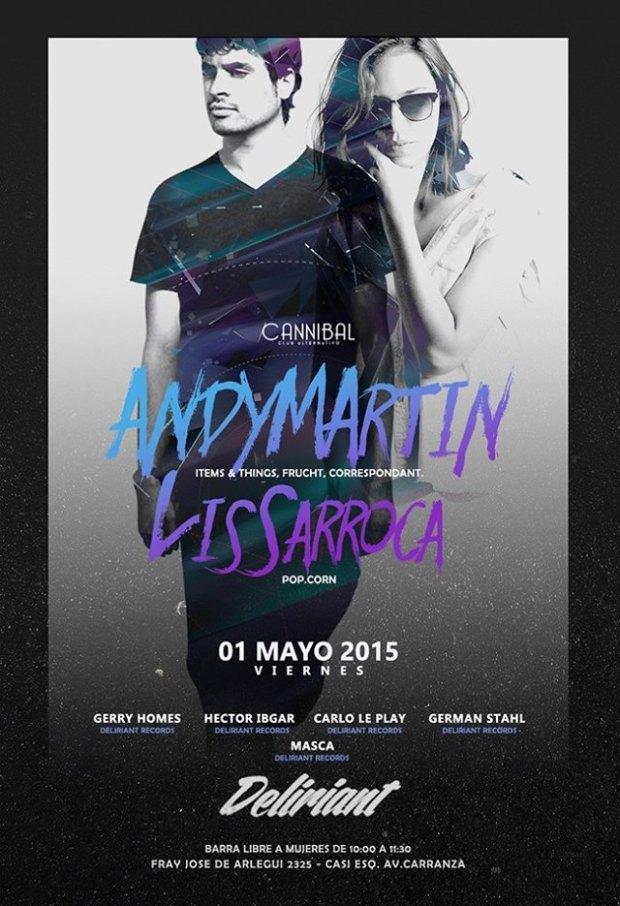 Andy Martin + Lis Sarroca @ Cannibal Club
