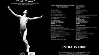 Photo of Se realizará el primer Festival de Danza Callejera Tonio Torres en SLP