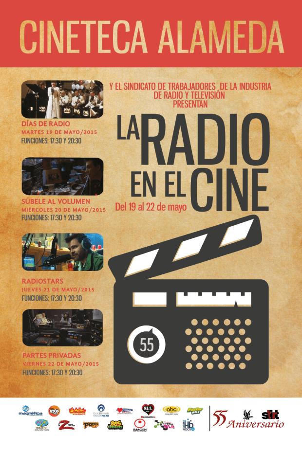"""Ciclo """"La Radio en el Cine"""" @ Cineteca Alameda"""
