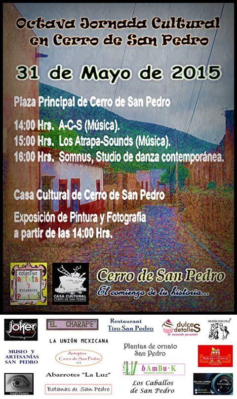 Octava Jornada Cultural Cerro de San Pedro