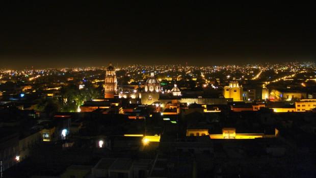 San Luis Potosí noche