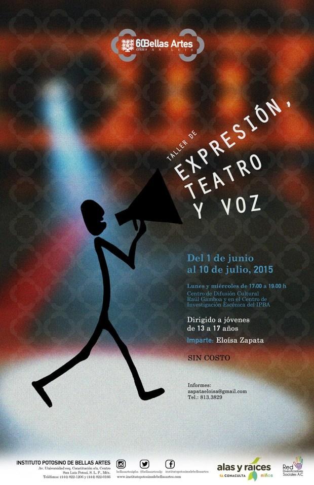 Taller expresión teatro y voz