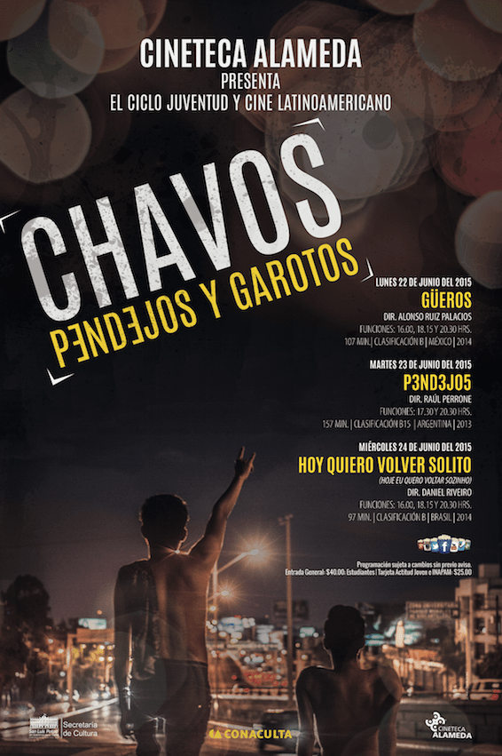 Chavos, pendejos y garotos