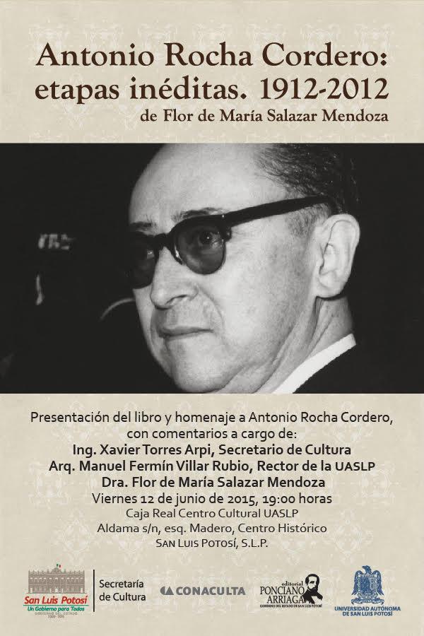 Libro Antonio Rocha