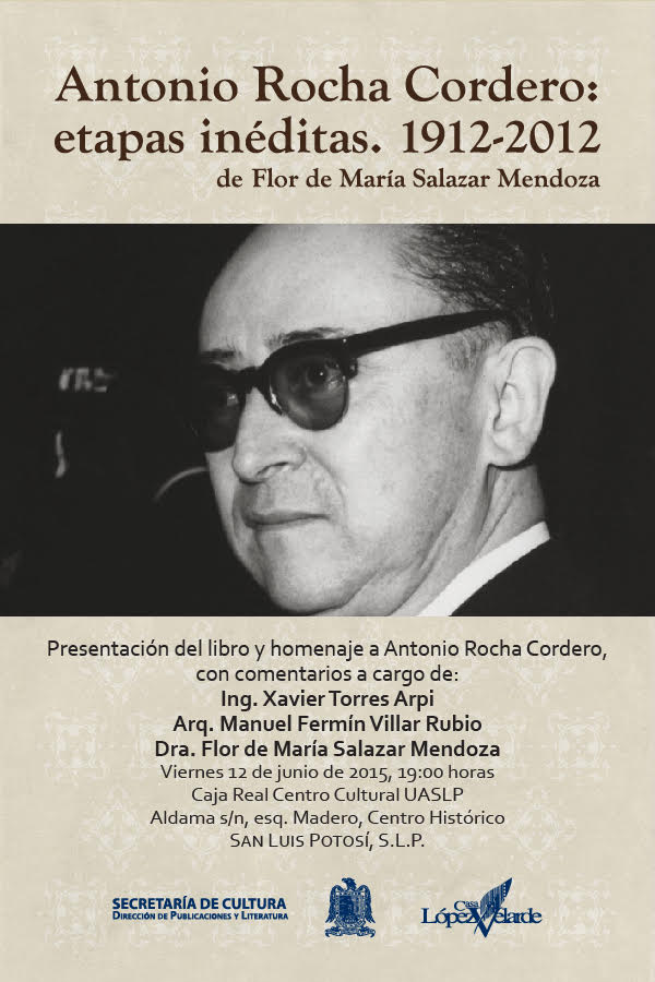 Presentación libro Antonio Rocha