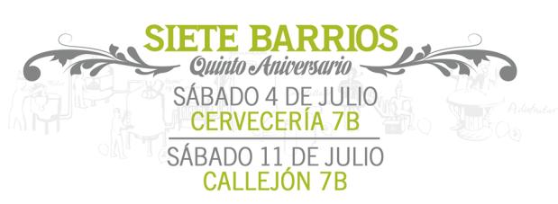 5° Aniversario de 7 Barrios
