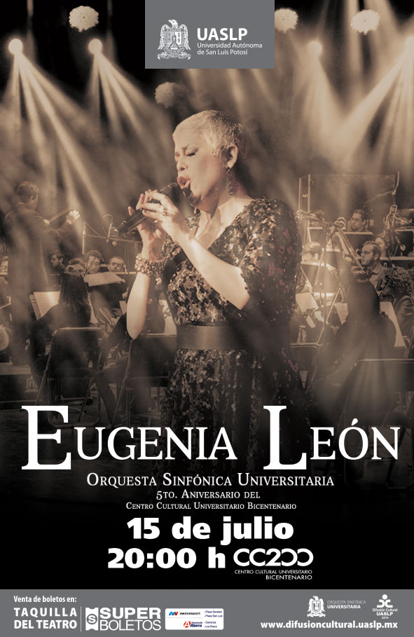 Eugenia León en San Luis Potosí @ Centro Cultural Universitario Bicentenario