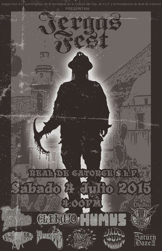 3r Festival Jergast Fest 2015 @ Real de Catorce | Real de Catorce | San Luis Potosí | México