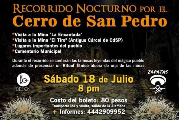 Recorrido Nocturno por Cerro de San Pedro @ Cerro de San Pedro | Cerro de San Pedro | San Luis Potosí | México