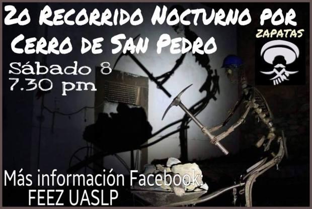 2do Recorrido Nocturno por el Cerro de San Pedro @ Cerro de San Pedro | Cerro de San Pedro | San Luis Potosí | México