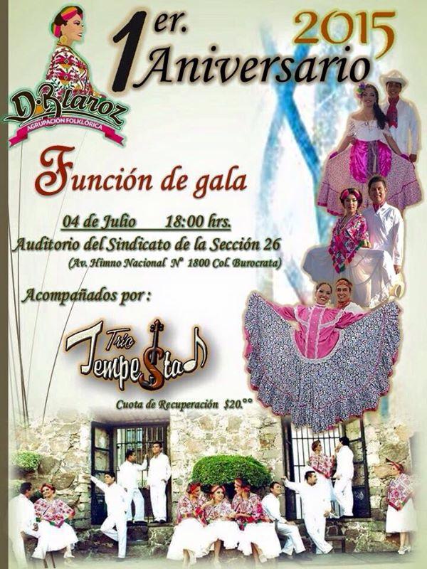 1er Aniversario de la agrupación folklórica Dblaroz @ Auditorio del Sindicato  de la Sección 26 | San Luis Potosí | San Luis Potosí | México