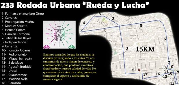233 Rodada Urbana Rueda y Lucha