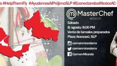 Photo of Carmen Miranda de #MasterChefMX venderá sus tamales en Aranzazú