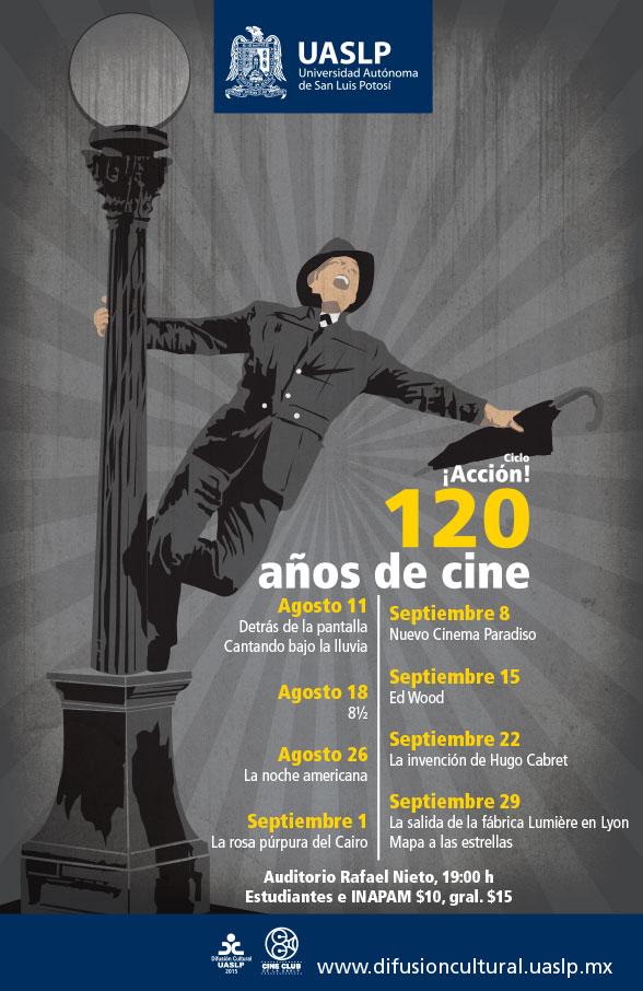 Ciclo ¡Acción! 120 años de cine @ Auditorio Rafael Nieto