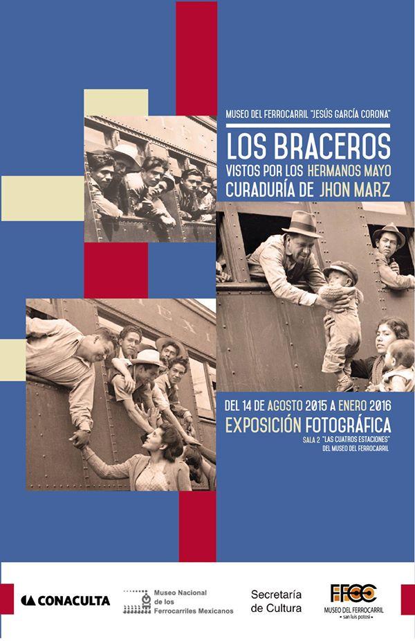 """Exposición fotográfica """"Los Braceros"""" @ Museo del Ferrrocarril"""
