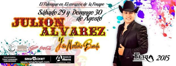 Julión Álvarez en la FENAPO 2015 @ Palenque de la Fenapo | San Luis Potosí | México