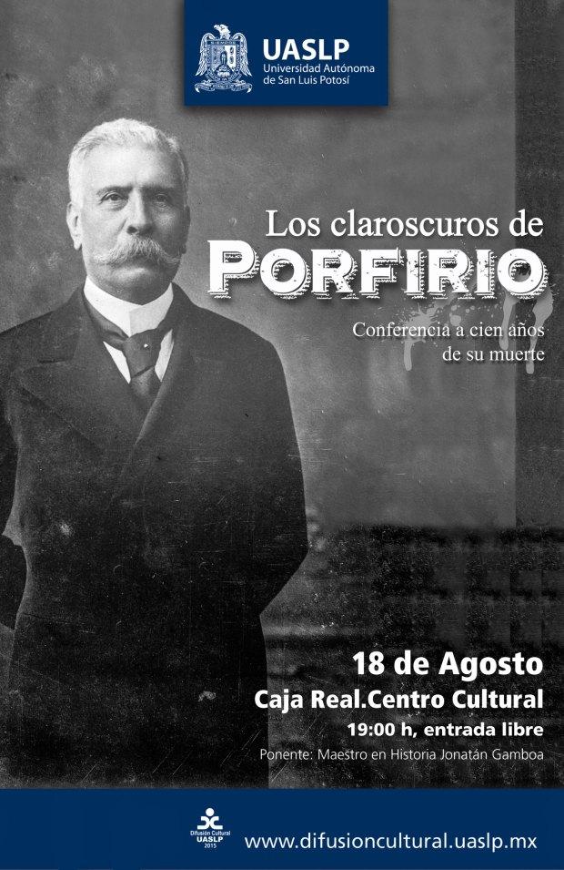 Conferencia: Los claroscuros de Porfirio @ Centro Cultural Caja Real