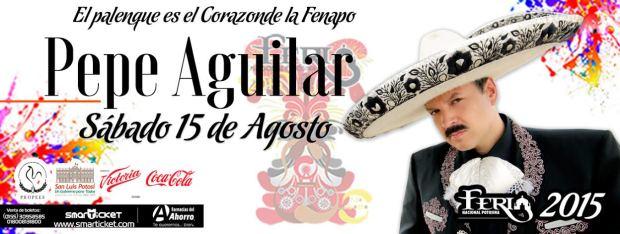 Pepe Aguilar en la FENAP 2015 @ Palenque de la Fenapo