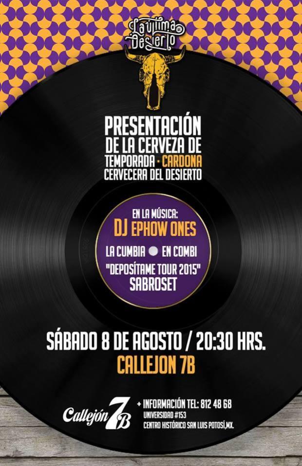 "Presentación de la cerveza de temporada ""Cardona"" @ Callejón 7B | San Luis Potosí | San Luis Potosí | México"