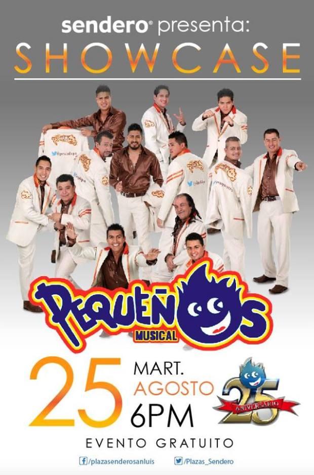 Showcase Pequeños musical en Plaza Sendero @ Plaza Sendero | San Luis Potosí | San Luis Potosí | México