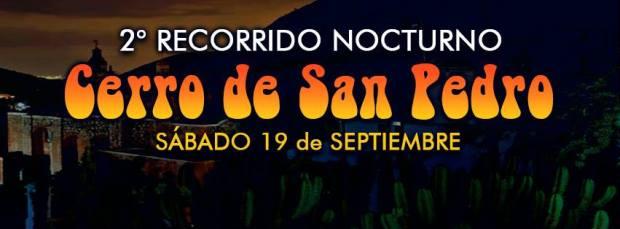 2 Recorrido nocturno Cerro de San Pedro