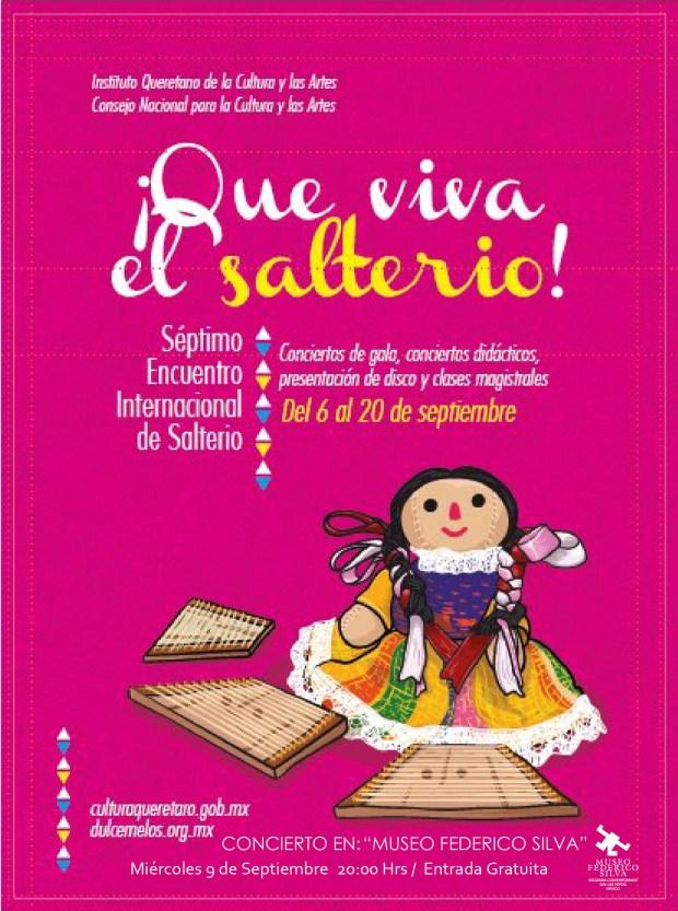 """""""Que viva el Salterio"""", Música tradicional de Eslovaquia @ Museo Federico Silva"""
