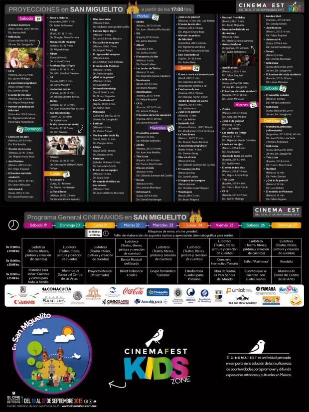 CinemaFest Programa 2015 - 3