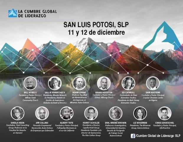 La Cumbre Global de Liderazgo San Luis Potosí @ Agua Viva | San Luis Potosí | San Luis Potosí | México