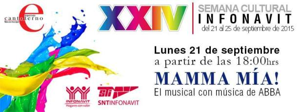 Mamma mía en el XXIV Semana Cultural Infonavit @ Infonavit | San Luis Potosí | San Luis Potosí | México