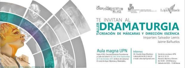 Taller de Dramaturgia,Creación de Máscaras y Dirección Escénica con base en el Texto La Zapatera Prodigiosa de F.G.Lorca @ Aula Magna del UPN