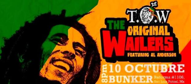 The Original Wailers en San Luis Potosí @ Steel Metal Bunker
