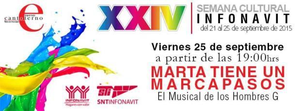 Marta tiene un marcapasos en el XXIV Semana Cultural Infonavit @ Infonavit | San Luis Potosí | San Luis Potosí | México