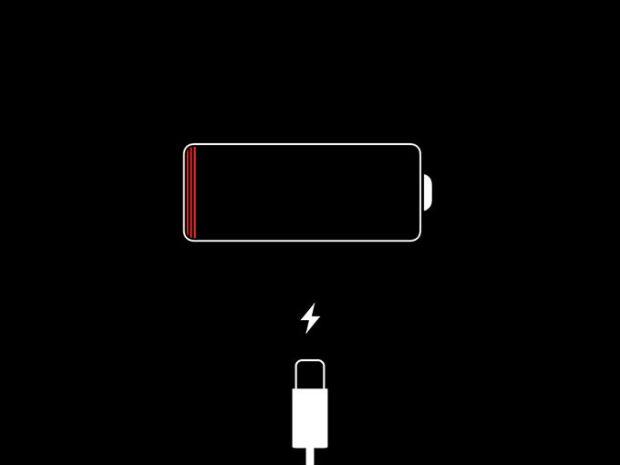 Bateria baja iOS