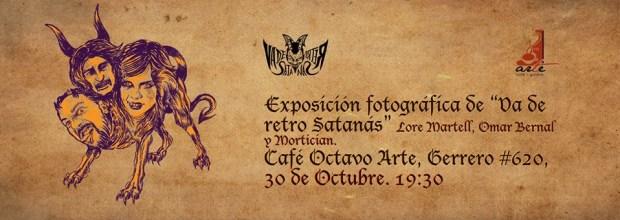 Exposición fotográfica Va de Retro Satanas