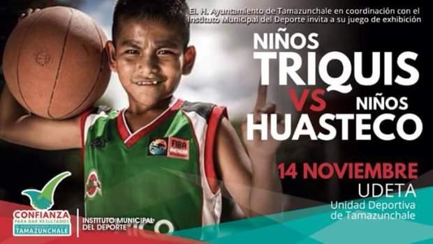 Niños Triquis vs Niños Huastecos