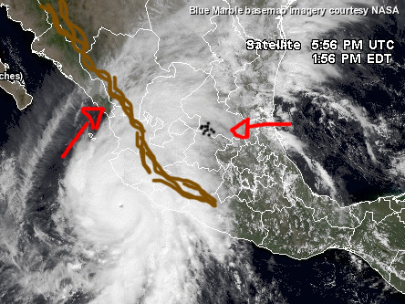 huracan patricia baches