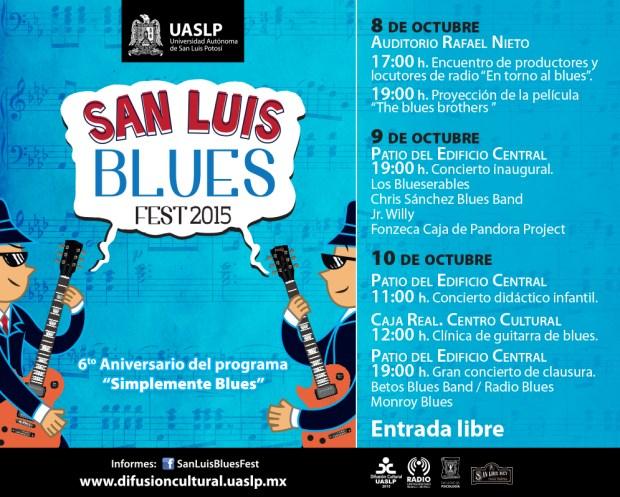 San Luis Blues Fest 2015 @ Patio Edificio Central