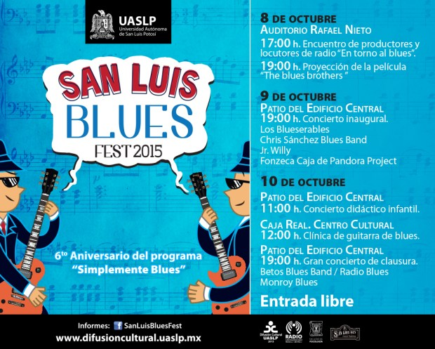 San Luis Blues Fest 2015 @ Patio Edificio Central