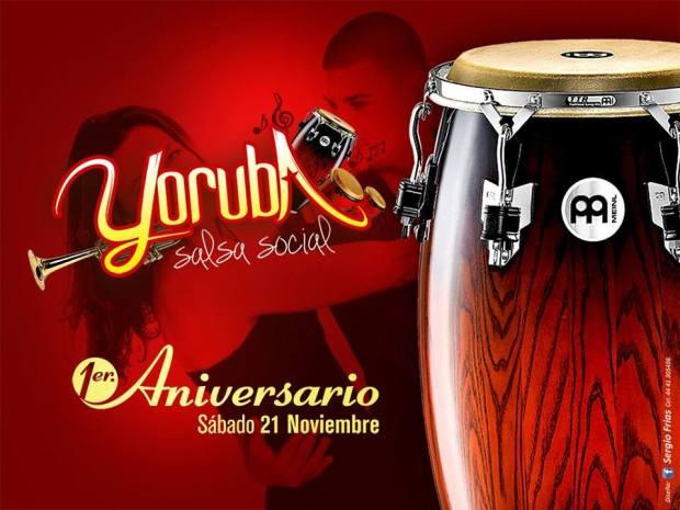 1er Aniversario Yoruba Salsa social @ Club Deportivo 2000
